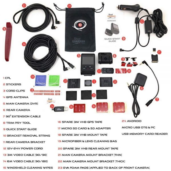SG9663DC Accessories